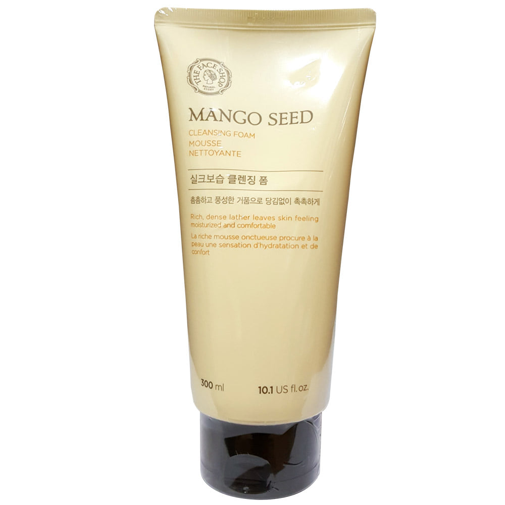 THE FACE SHOP Mango Seed Silk moisturizing Cleansing Foam 300ml