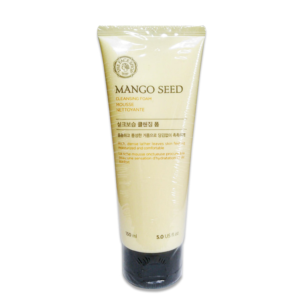THE FACE SHOP Mango Seed Silk moisturizing Cleansing Foam 150ml