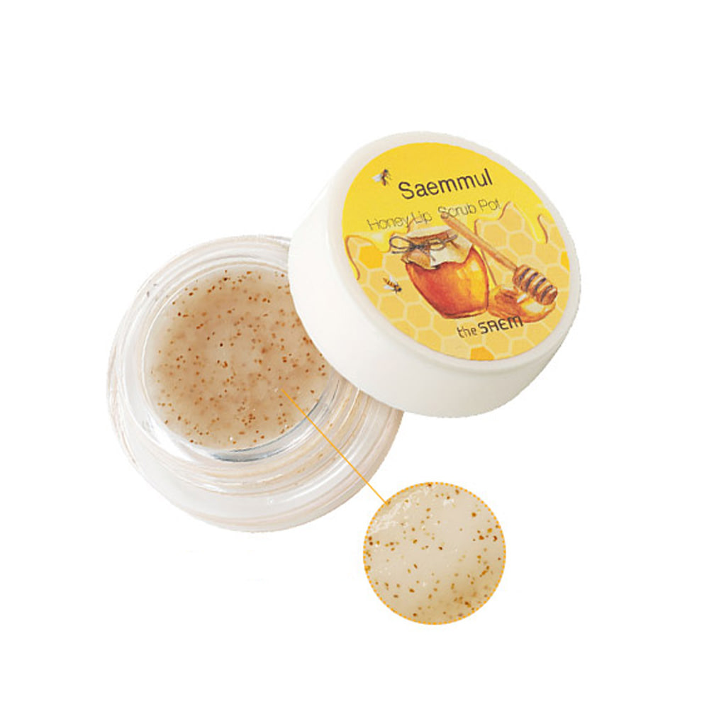 THESAEM-The Saem Saemmul Honey Lip Scrub Pot 7g