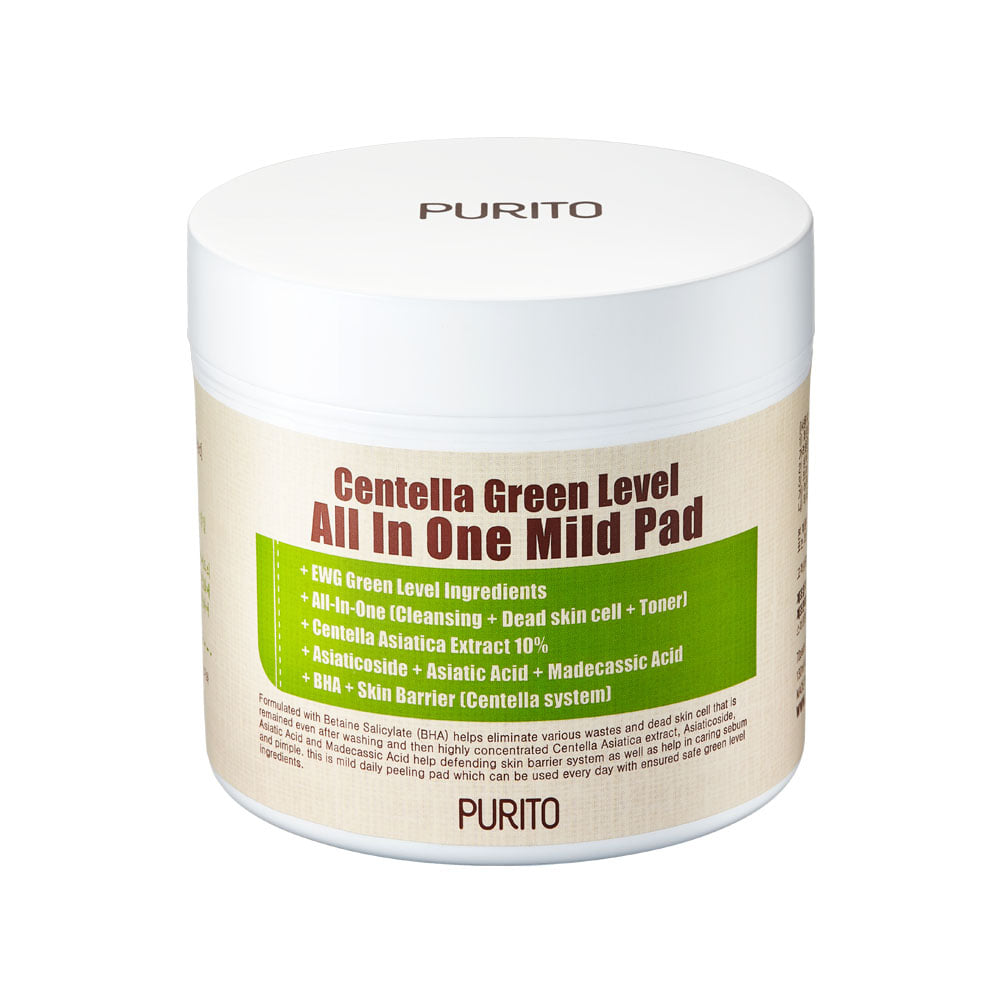 PURITO Centella Green Level All IN One Mild Pad 130ml / 70pads