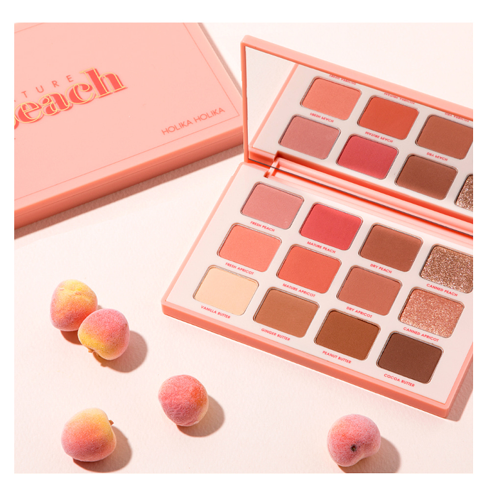HOLIKA HOLIKA Piece Matching 12 Eye Shadow Palette 12g  #01 Mature Peach Renewal
