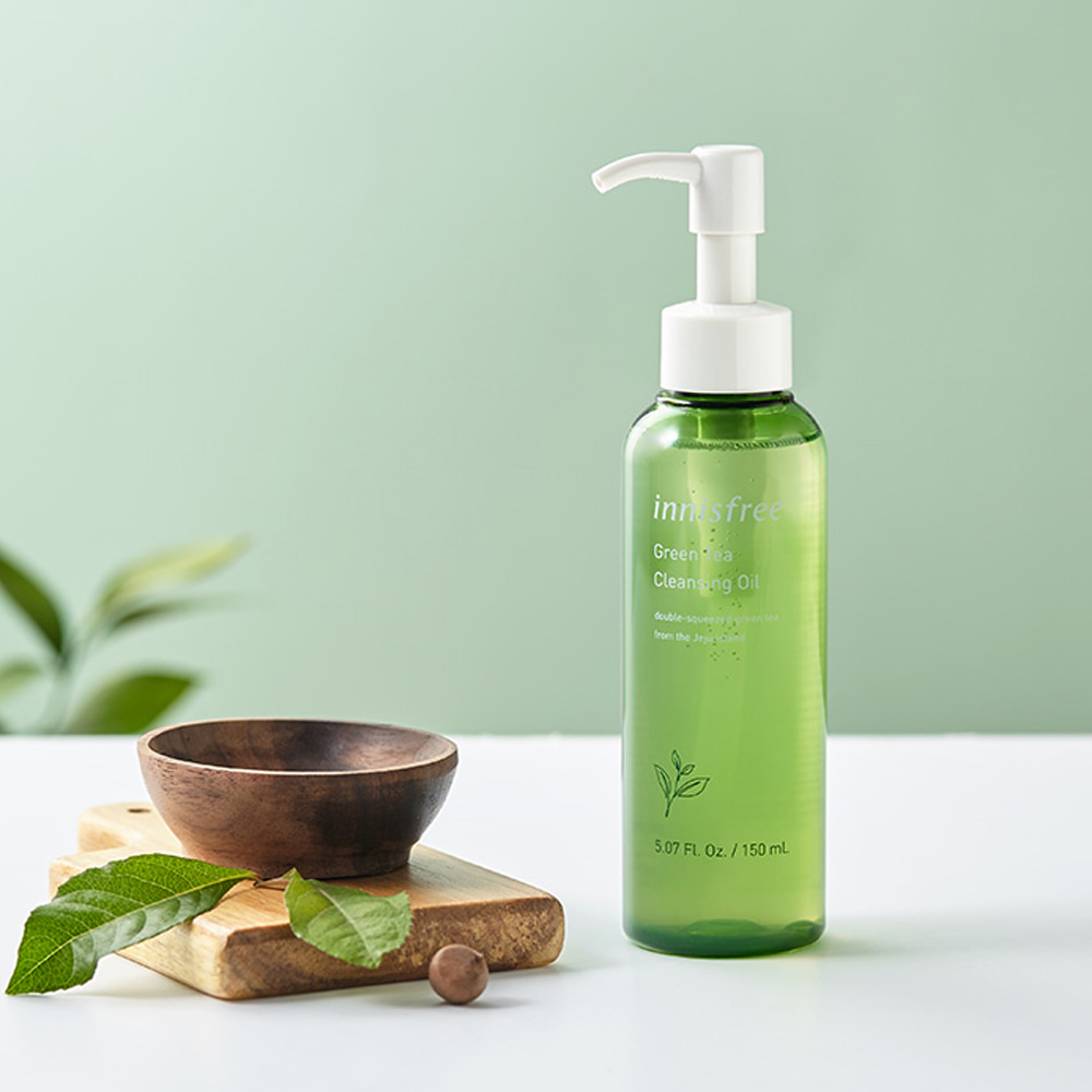 Innisfree Green Tea Cleansing Oil 150ml Renewal