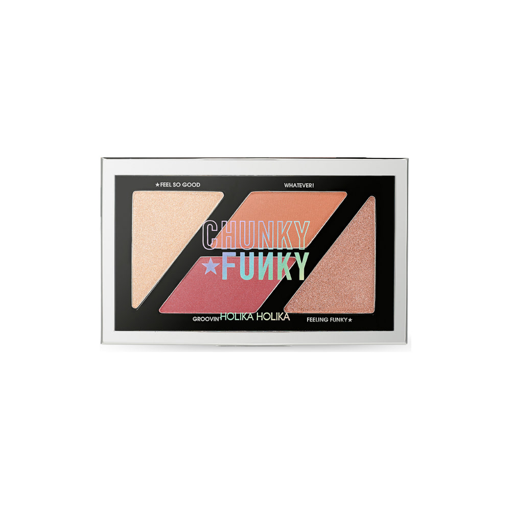 Holika Holika So Funk Multi Blusher Palette #Feel So Good 2g*4