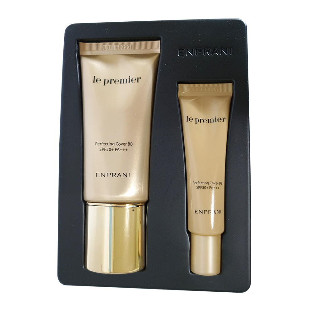 ENPRANI Le premier Perfecting Cover BB Special Set SPF50+ PA+++ (2items)