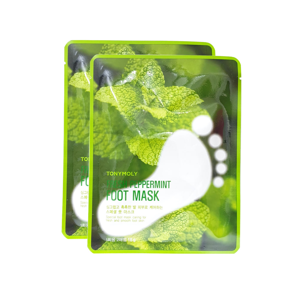TONYMOLY Fresh Peppermint Foot Mask 16g (2pcs)