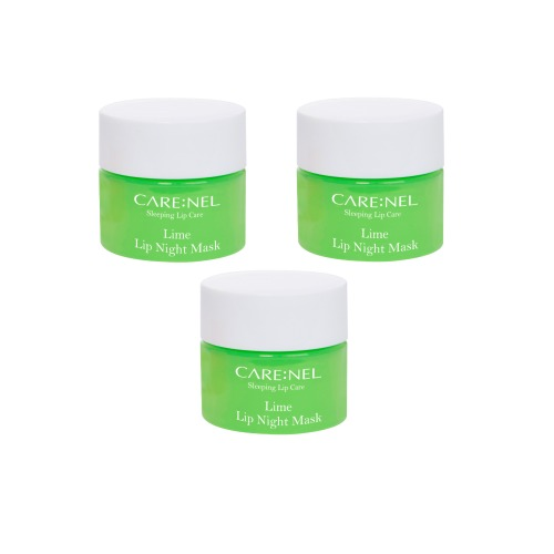 CARENEL Lime Lip Sleeping Mask 5g 3pcs