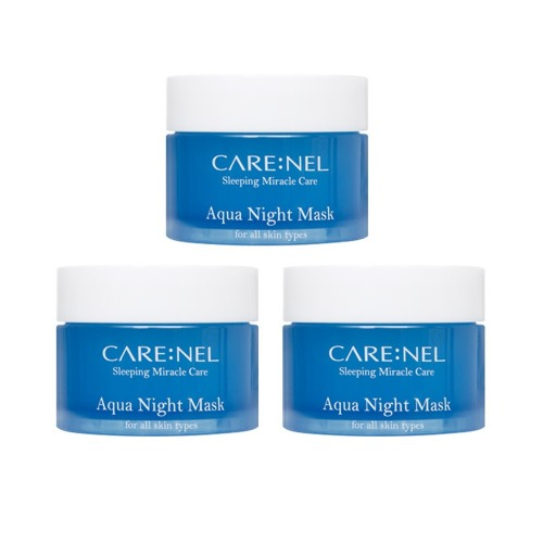 CARENEL Aqua Water Sleeping Mask 15ml 3pcs