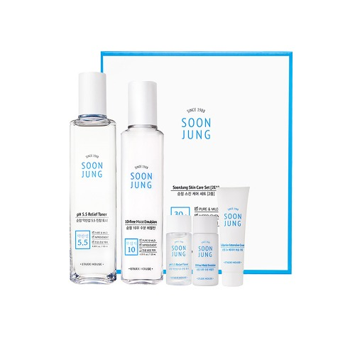 Etude House Soon Jung Skin Care Set