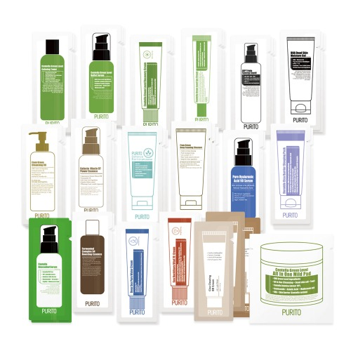 PURITO Sample Kit (20 types of Samples ) Total 46ea